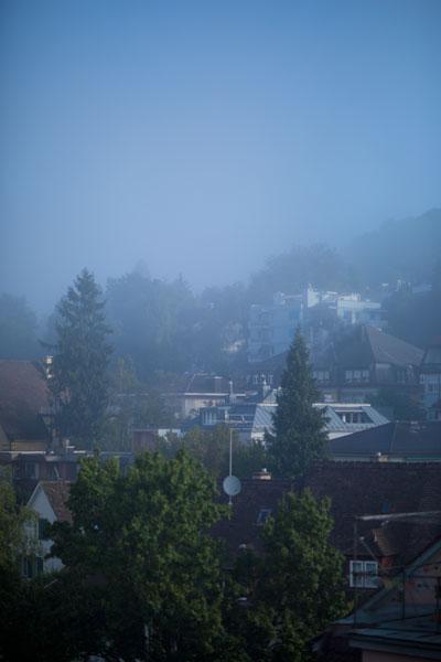 Zurich fog